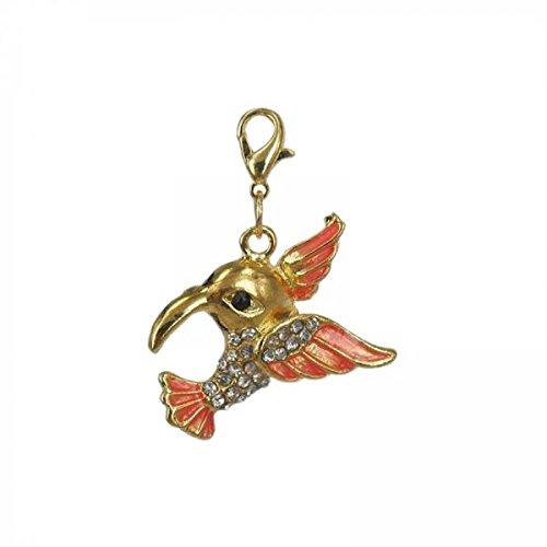 Charming Charms Charm Humming-Bird in Steel