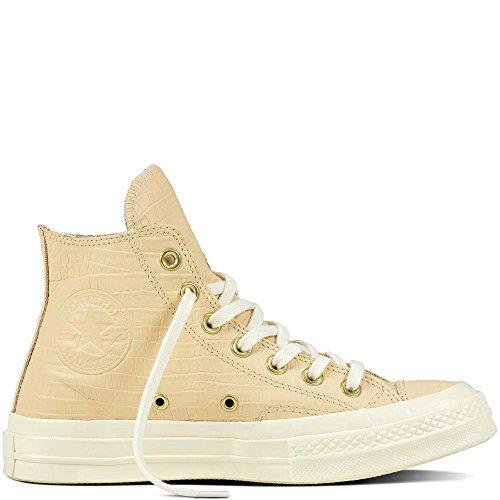 Converse Chuck Taylor CTAS 70 HI Leather, Zapatillas de Deporte para Mujer, Rosa (Light Twine/Light Twine/Egret 228), 39 EU