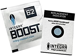 Integra Boost Humidity Control Humidiccant Packet (10 pack) (4g 62% R.H.) by Integra