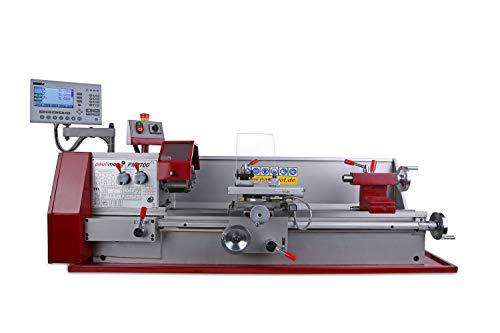 PAULIMOT Drehbank/Drehmaschine PM2700 mit 400 Volt Motor und Messsystem