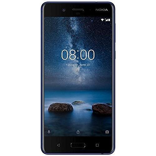Nokia 8 Hybrid Singola SIM 4G 128GB Blue - smartphones (13.5