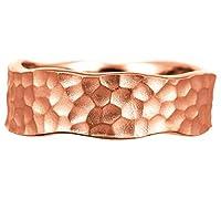 [ココカル]cococaru 地金 リング k10 イエローゴールド/ホワイトゴールド/ピンクゴールド ファッションリング 品質保証書 金属アレルギー 日本製(ピンクゴールド 10)