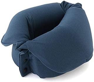 MUJI Roll-Up Neck Pillow Navy