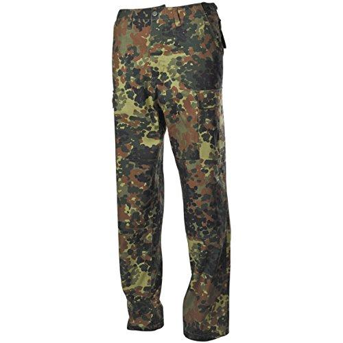 MFH BDU Combat Trousers Ripstop Flecktarn Size XXL