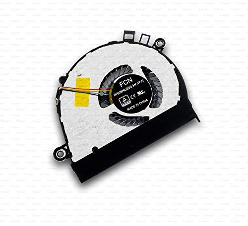 X-Comp EG50040S1-C750-S99 - Ventilador de CPU para Lenovo Yoga 710-14IKB 710-14ISK 710-15IKB 80V5 710-15ISK 80U0