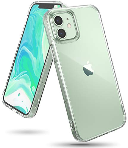 【Ringke】iPhone 12 mini ケース 5.4インチ MagSafe 対応 クリア スマホケース ストラップホール [米軍MIL規格取得] 透明 落下防止 カバー Qi 充電 アイフォン12 ケース アイフォン12ミニケース iPhone12 mini 2020 Fusion ケース (Clear クリア)