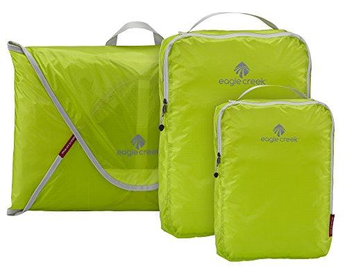 Eagle Creek Pack-It Specter Starter Set - Travel Compression Packing Cubes, 3er Set, Strobe Green (Grün) - EC-41194046