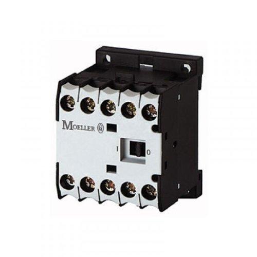 Eaton DILEM-10(48V50HZ) Mini-Contactor de Potencia, 3 Polos con 1 NO, 4 kW / 400 V / AC3, 48 V 50 Hz