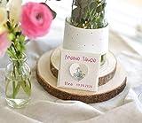 Gastgeschenk zur Taufe Personalisiert inkl. Blumensamen Arche Noah