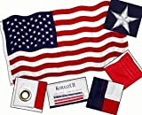 4x6 FT Valley Forge Koralex US American Flag 2 Ply Polyester Commercial Grade