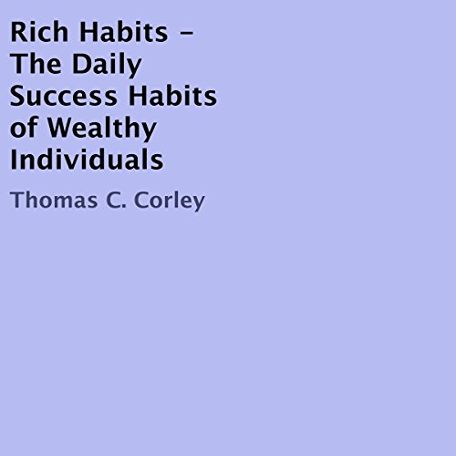 Rich Habits audiobook cover art
