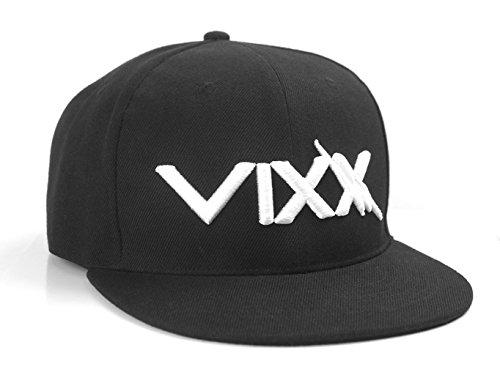 Fanstown Kpop Snapback 3D-Stickerei Kappe mit Lomo-Karte BTS VIXX GOT7 -  -  Medium