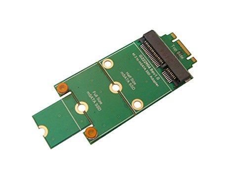 Kalea-Informatique© mSATA-Adapter, miniPCIe auf M.2 (NGFF) – zum Montieren einer mSATA-SSD an einem M.2-Port.