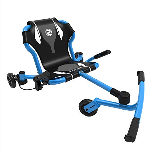 EzyRoller New Drifter-X Ride on Toy for Ages 6 and Older, Up to 150lbs. - Blue