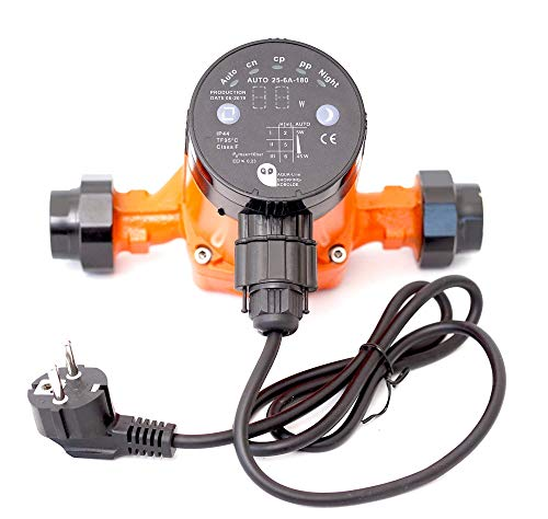 Heizungspumpe Umwälzpumpe Hocheffizienzpumpe Klasse A SK Auto 25-6A/180 (180 mm = Einbauhöhe) Förderhöhe 6m