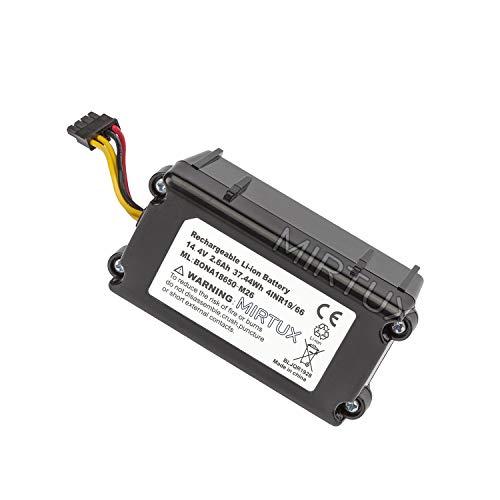 MIRTUX Batería de reemplazo para Conga 1290 y 1390 14,4V 2600mah Li-Ion. Repuesto de Litio Recargable Compatible con Conga 1290-1390