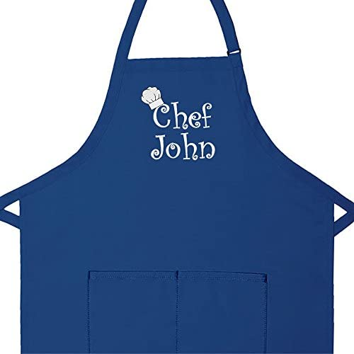 Unisex Apron Embroidered Coffee Pot /& Cup Design