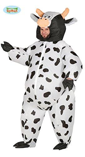 Generique - Kostüm aufblasbares Kuhkostüm für Erwachsene