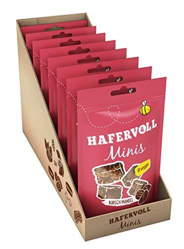 HAFERVOLL Minis - Kirsch Mandel, 8 x 80g