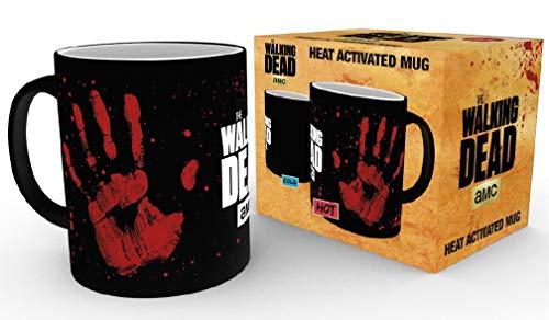 The Walking Dead Hand - Heat Change Mug Tasse Standard