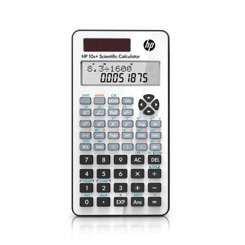 HP 10s+ Calculatrice Scientifique Blanc