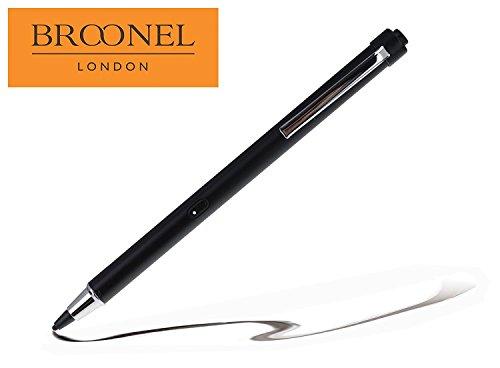 Broonel Nero Ricaricabile Stilo Digitale Attivo per LeaningTech QT-10