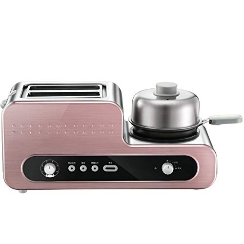 Adesign 2 Slice Toaster, 2 Ranuras de Acero Inoxidable tostadoras, máquina automático de múltiples Funciones Pan, Ranura Ancha, Bandeja de residuos desplegable, Acero Fino Anchas