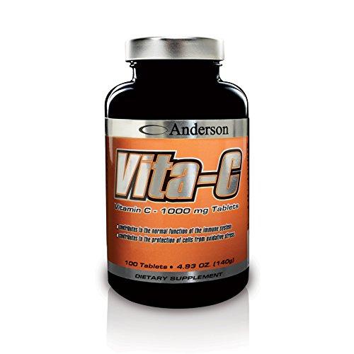 Integratore di Vitamina C forte Anderson Vita-C 100 cpr da 1000 mg