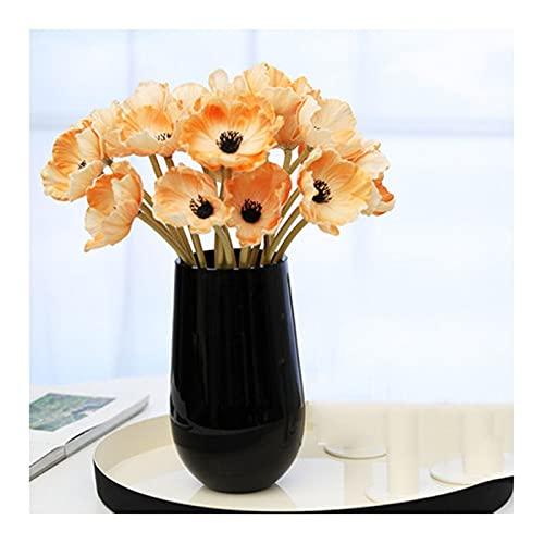 liushop Flores Artificiales Flores Artificiales Poppy Flows Flowers Living Room Decoration Moderno Baño Decoración Bouquets Se Puede Enviar A Sus Colegas Familiares Parientes Flores Artificiales