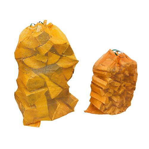 Forest Master Sacs à bûches tissés solides (1000, moyen (50 x 63))