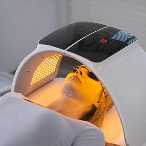 LED Therapy Light, LED Face Mask Skin R-ejuvenation PDT Photon Facial Skin Care Mask Skin T-ightening Lamp SPA Face Device Beauty Salon Equipment A-nti-aging Remove Wrinkle