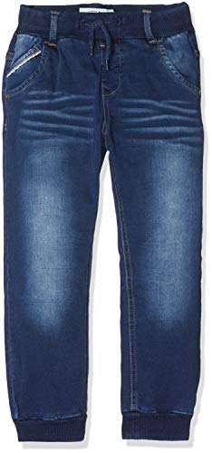 NAME IT Jungen NMMBOB DNMTOLLY 2160 Pant NOOS Jeans, Blau (Medium Blue Denim Medium Blue Denim), (Herstellergröße: 110)
