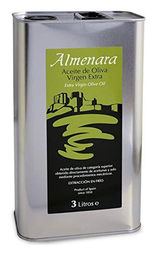 Almenara - Aceite de Oliva Virgen Extra Premium en Lata de 3 L