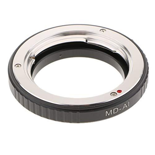 Baoblaze Macro Anello Adattatore per Minolta MD MC Obiettivo a AI F Mount Camera Body per Nikon DSLR D750 D610 D5600 D7000 D7200 D800
