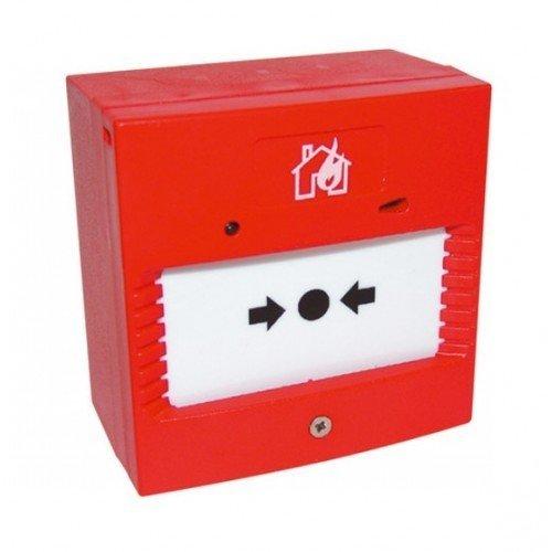fa17–Llave Manual para pulsador de alarma contra incendios, con LED, sin Sounder EN54