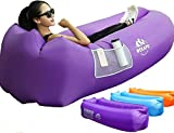 Best Festival Chairs - Wekapo Inflatable Lounger Air Sofa Hammock-Portable,Water Proof& Anti-Air Review