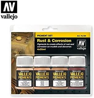 Vallejo Rust & Corrosion Pigment Set 4 x 35ml Paint