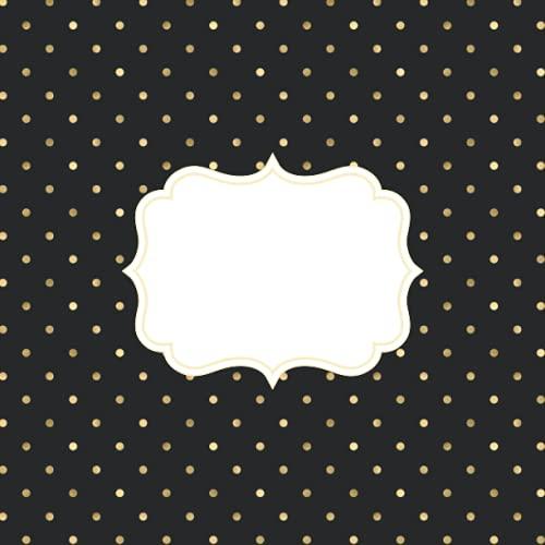 Scrapbooking Album hojas negras: Scrapbook cuaderno con papel negro para fotos o...