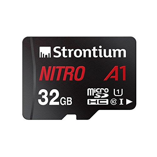 Strontium Nitro A1 32GB Micro SDHC Memory Card 100MB/s A1 UHS-I U1...