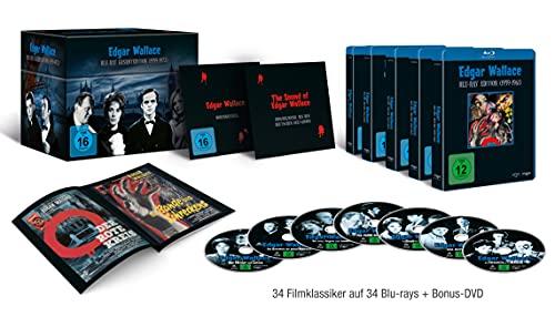 Produktbild von Edgar Wallace Gesamtedition (exklusiv bei Amazon.de) [Blu-ray]
