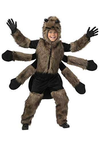 Child Furry Spider Costume Small (6)