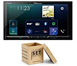 Pioneer Radio SPH-DA230DAB 2DIN Apple CarPlay Waze mit Antenne + Einbauset für Toyota Yaris (XP9) 2006-2011 mit OEM Navi