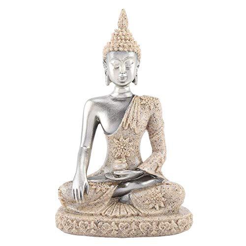 Jadeshay Buddha-Statue - meditierende Friedens-sitzende Verzierung, die Figur-Handwerk für Hauptdekorations-Tischverzierung schnitzt(#1)