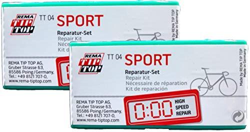 Rema Two (2) Sport Bicycle Narrow Tube Patch Repair Kits TT04 (24) - TT O4