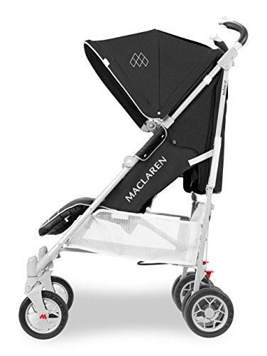 Maclaren Techno XT Stroller- Full-featured, lightweight, compact. For newborns and up to 55lb. Newborn Safety System, extended UPF 50+/waterproof canopy, Sovereign