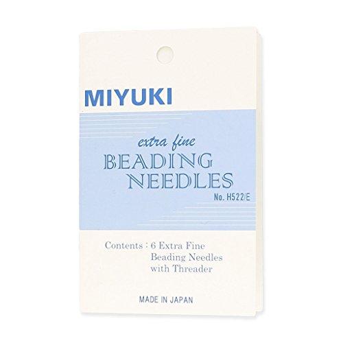 Aghi per perle Miyuki extrafini x6