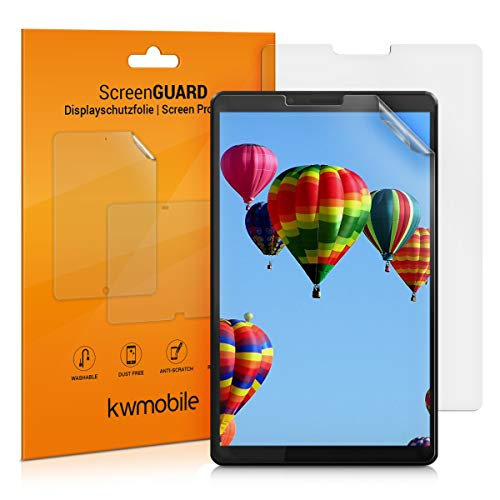 kwmobile 2x Screen Protectors Compatible with Lenovo Tab M7 (2. Generation) - Anti-Scratch, Anti-Fingerprint Matte Tablet Display Films
