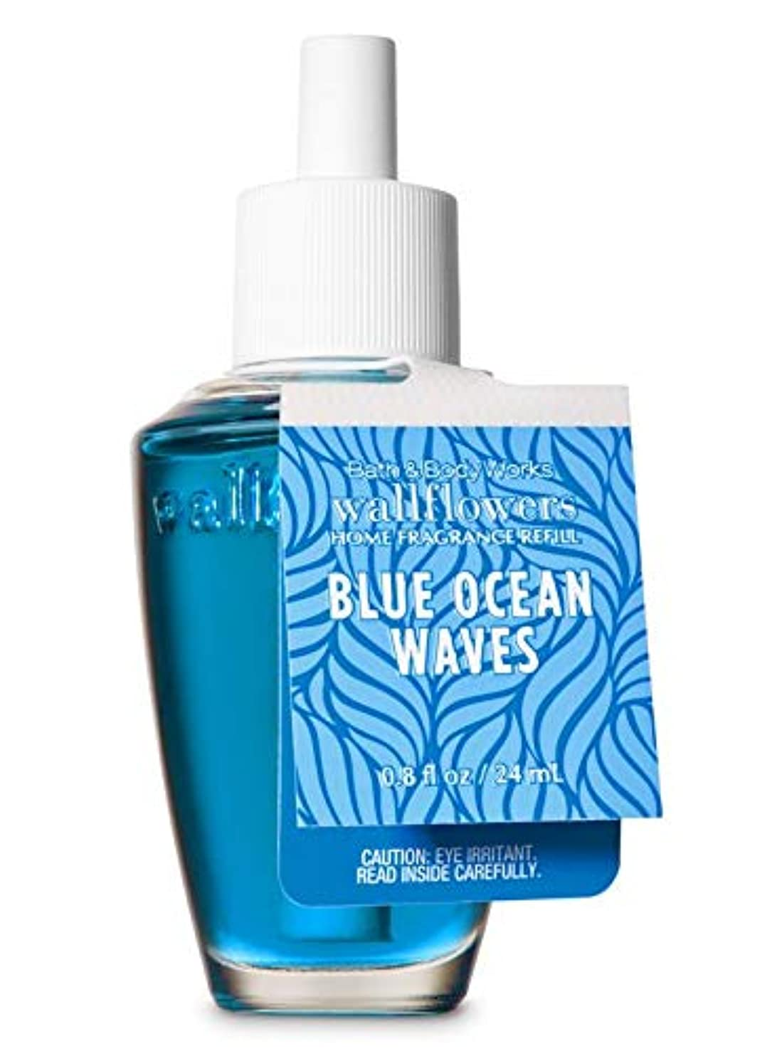 【Bath&Body Works/バス&ボディワークス】 ルームフレグランス 詰替えリフィル ブルーオーシャンウェーブ Wallflowers Home Fragrance Refill Blue Ocean Waves [並行輸入品]