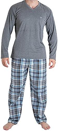 Mariner - Pyjama long Scottish 1 - (gris S)