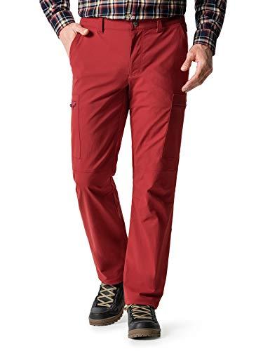 Klepper Herren Active Wanderhose einfarbig Rot 50